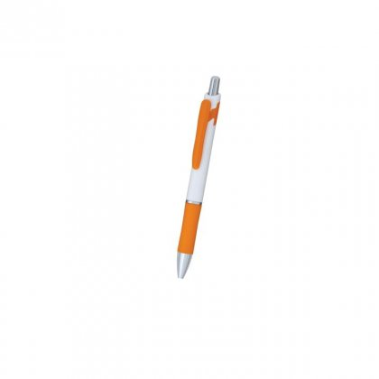Personalized Lassa White-Orage Promotional Pen
