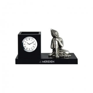 "Personalized Le-Meridien Colour Printing Table Clock (0.5""X3"")"