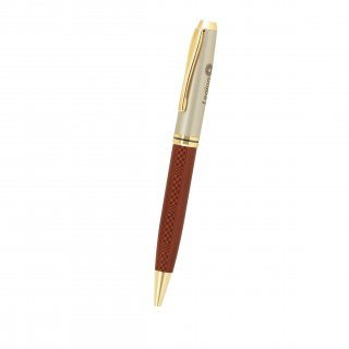 Personalized Legion Maroon-Gry Metal Pen With Box