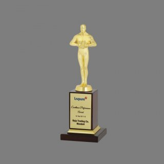 Personalized Livpure Oscar Award Trophy