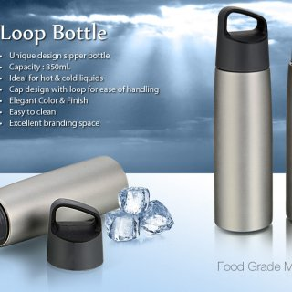 Personalized Loop Steel Bottle (850 Ml)