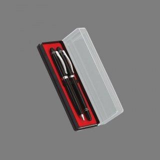 Personalized Lotto Leggenda Black/Gold Pen Set With Box