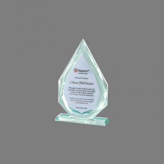 Personalized Magento Crystal Trophy Trophy