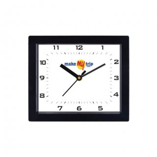 "Personalized Make My Trip Ecoline Wall Clock (5""X6"")"