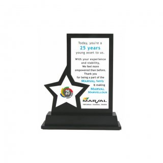 """Personalized Marval Printing Size Memento (3.5""""X6.5"""")"""