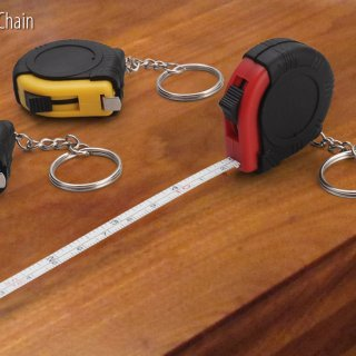 Personalized Measuring Tape Key Chain (1Mtr)
