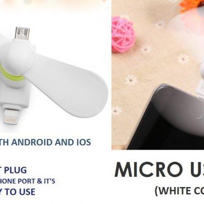 Personalized Micro Usb Fan