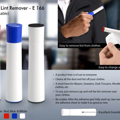 Personalized mini lint remover (re-usable)
