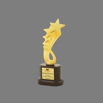 Personalized Mittal Star Award Star Trophy