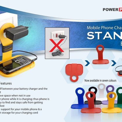Personalized mobile charging stand