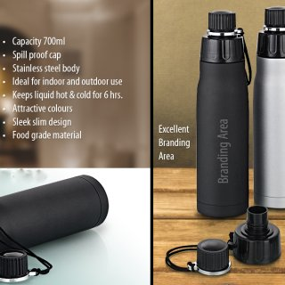 Personalized Mojo Steel Bottle (700 Ml)