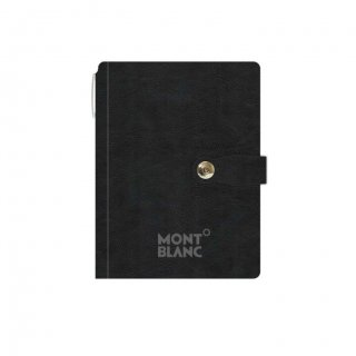 Personalized Mont Blanc A5 Notebook (Black)