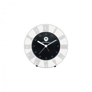 "Personalized Motorola Table Clock (3.25"" Dia)"