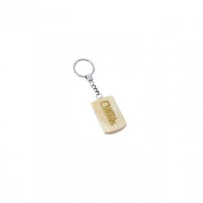 Personalized National Geographics Keychain