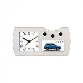 "Personalized Nexa Printing Size Table Clock (2.8""X1.4"")"