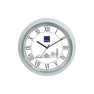 "Personalized Novotel Wall Clock (9.5"" Dia)"