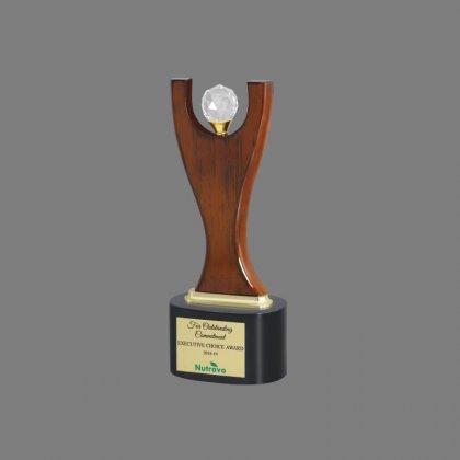 Personalized Nutravo Award Trophy