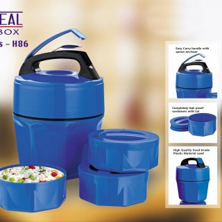 Personalized octomeal lunch box - 3 containers (plastic)