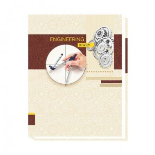 Personalized Office Engineer'S Diary - Natural