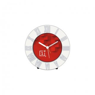 """Personalized One Plus Table Clock (3.25"""" Dia)"""