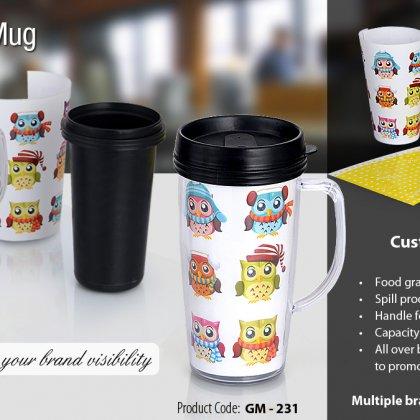 Personalized Paper Insert Mug (500 Ml)