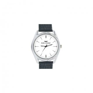 Personalized Park Avenue Matte Finish Box Wrist Watch