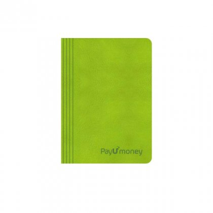 Personalized Pay U Money A6 Notebook