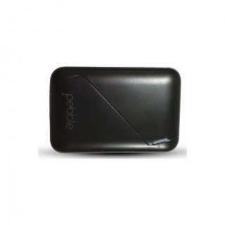 Personalized Pebble 4400Mah Power Bank (Ppc44Buc(N) Black)