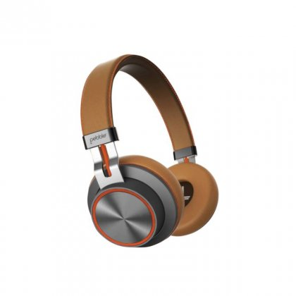 Personalized Pebble Bluetooth Headphone (Zest Pro Brown)