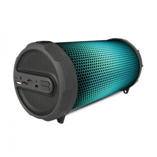 Personalized Pebble Bluetooth Speaker 10W With Dancing Lights (Dazzle)