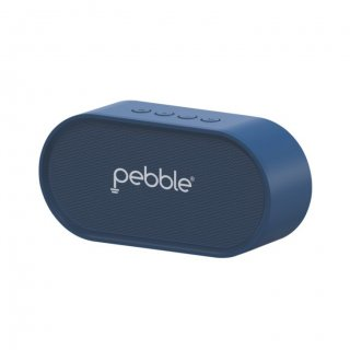 Personalized Pebble Bluetooth Speaker 6W (Bassx Prime Blue)