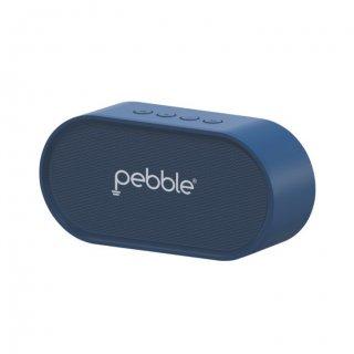 Personalized Pebble Bluetooth Speaker 6W (Bassx Prime Blue)