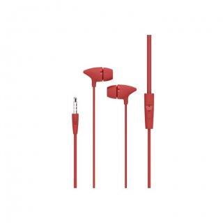Personalized Pebble Handsfree Earphone (Spirit Bolt Red)