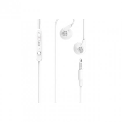 Personalized Pebble Handsfree Earphone (Zest Bassbuds White)