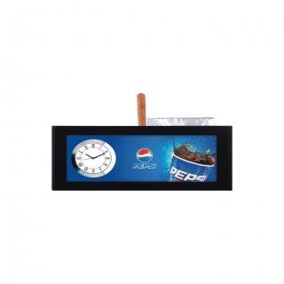 "Personalized Pepsi Digital Print Table Clock (2.5""X4"")"