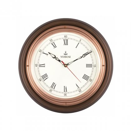 "Personalized 12"" Dia (Copper) Antique Clock"