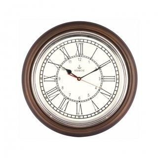 "Personalized 16"" Dia (Chrome) Antique Clock"
