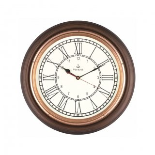 "Personalized 16"" Dia (Copper) Antique Clock"