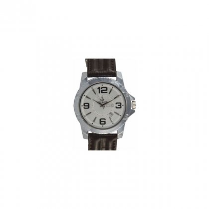 Personalized Analogue Brown Metal Dial Wrist Watch