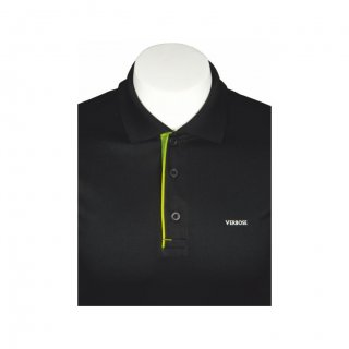 Personalized Black With Green T-Shirt(Dot-Knit)