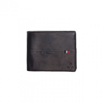 Personalized Classic Black Premium Leatherette Wallet