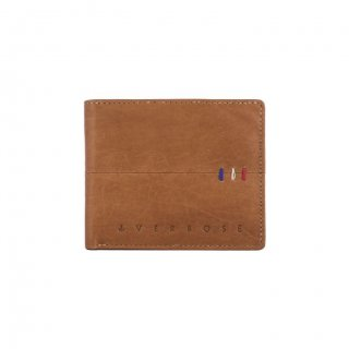 Personalized Classic Tan Leather Wallet