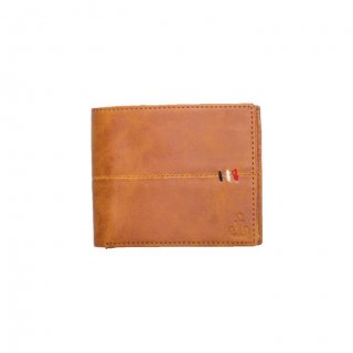Personalized Classic Tan Premium Leatherette Wallet