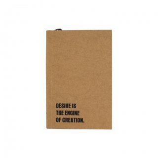 Personalized Desire Kraft Softcover Notebook