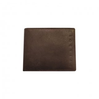 Personalized Flagship Brown Leather Wallet