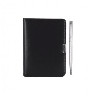 Personalized Leatherette Notbook & Pen Mini Gift (Set Of Two)