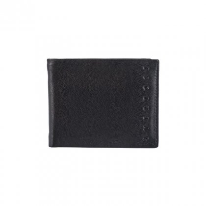 Personalized Mirror Black Premium Leatherette Wallet