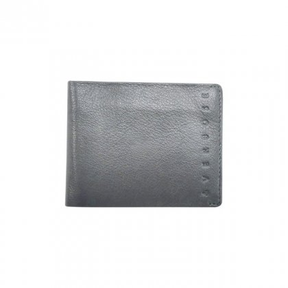 Personalized Subtle Grey Premium Leatherette Wallet