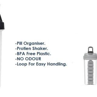 Personalized Pill Organiser Gym Shaker (700 Ml)