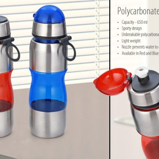 Personalized Polycarbonate Bottle (650 Ml)